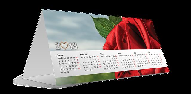 Kalendarz i jego estetyka - czy jest to istotne?